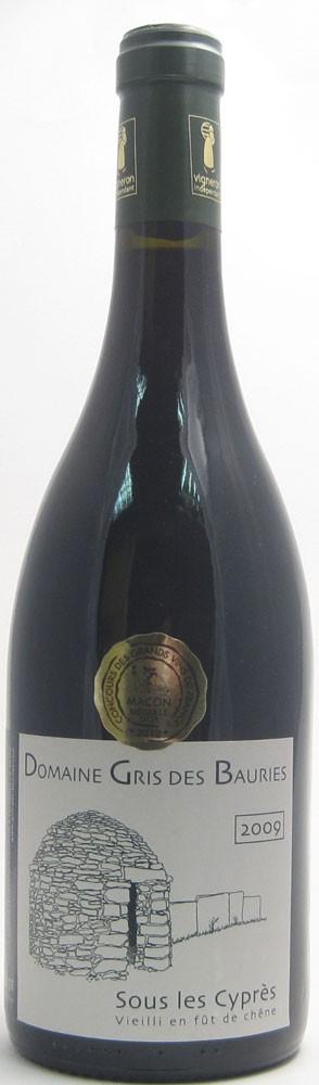 Domaine Gris De Bauries Sous Les Cypres Cotes Du Rhone French red wine