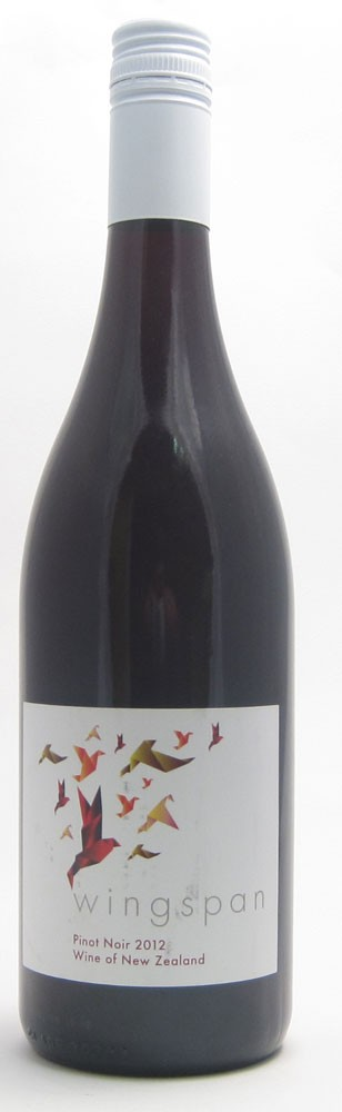 Wingspan Pinot Noir New Zealand red wine