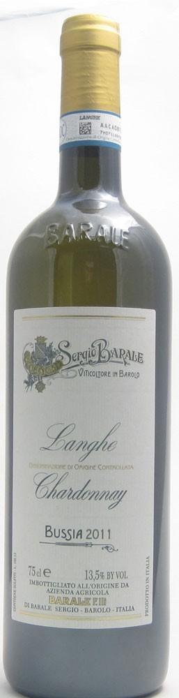 Sergio Barale Bussia Chardonnay Italian white wine