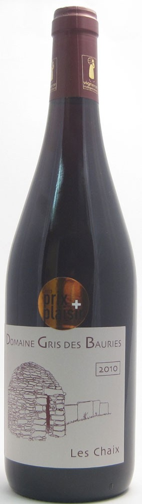 Domaine Gris Des Bauries Les Chaix Cotes Du Rhone French red wine