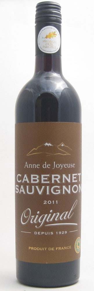 Anne De Joyeuse Cabernet  French red wine