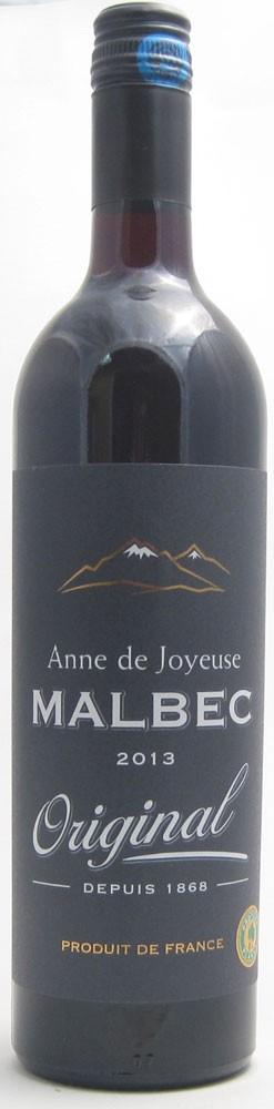 Anne De Joyeuse Malbec French red wine