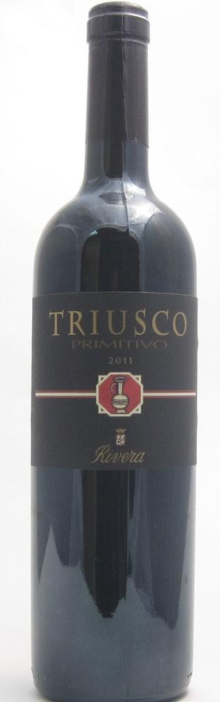 Rivera Triusco Primitivo Italian red wine