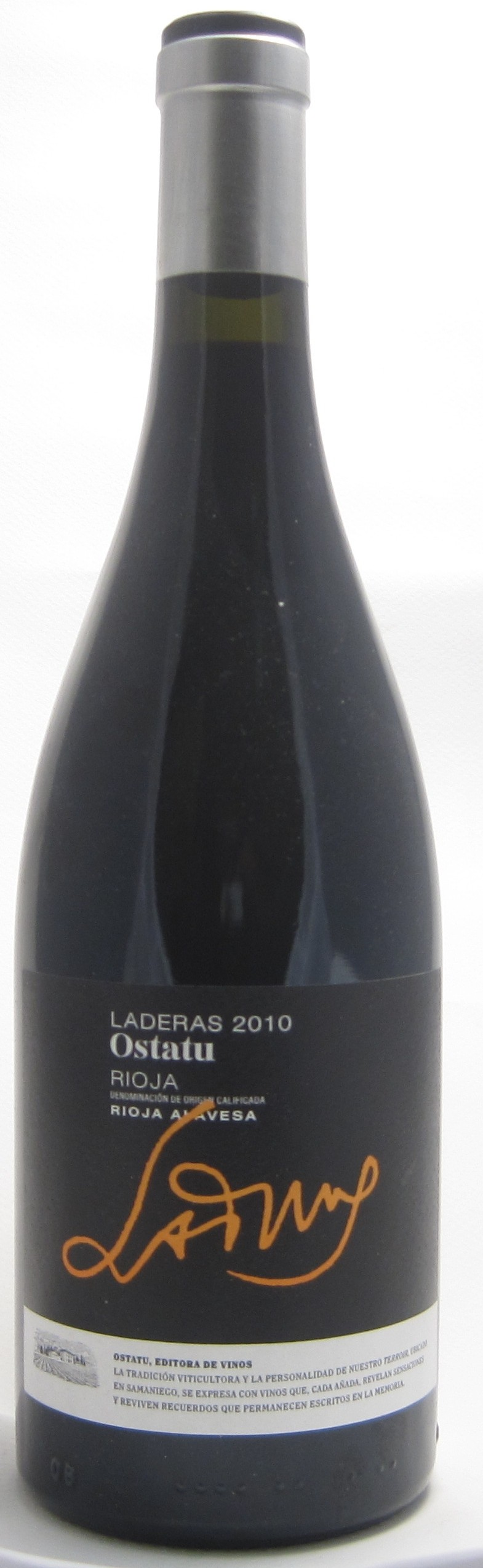 Bodegas Ostatu Rioja 'Laderas'