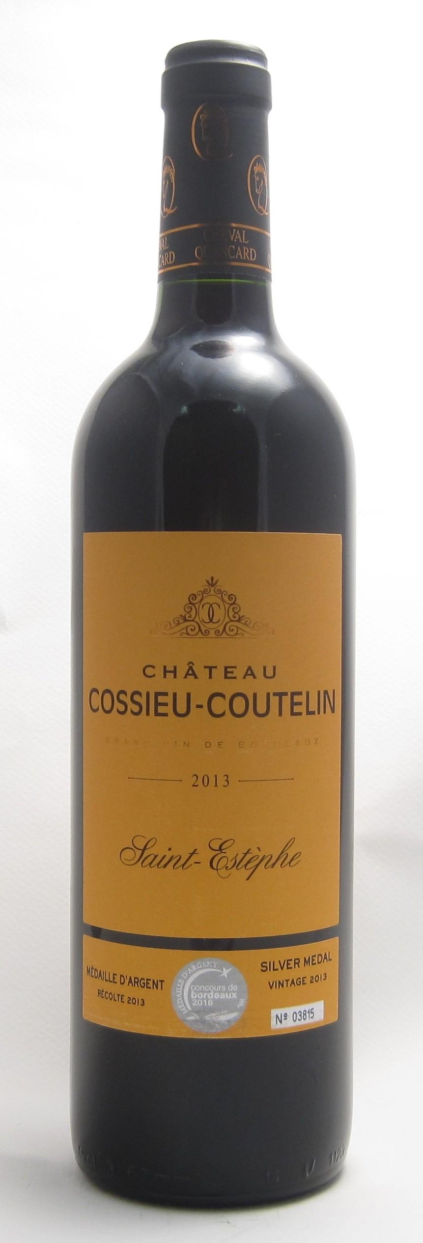 Chateau Cossieu-Coutelin Saint Estéphe