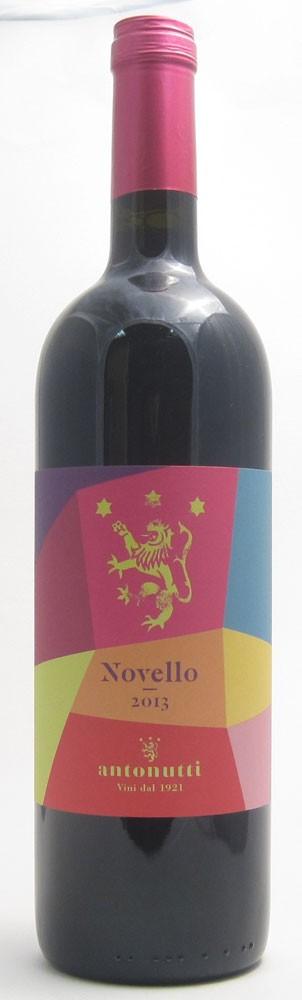 Antonutti Novello  Italian red wine