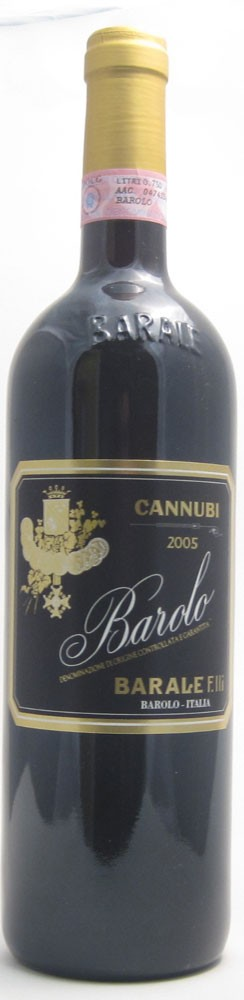 Barale Cannubi Barolo Italian red wine