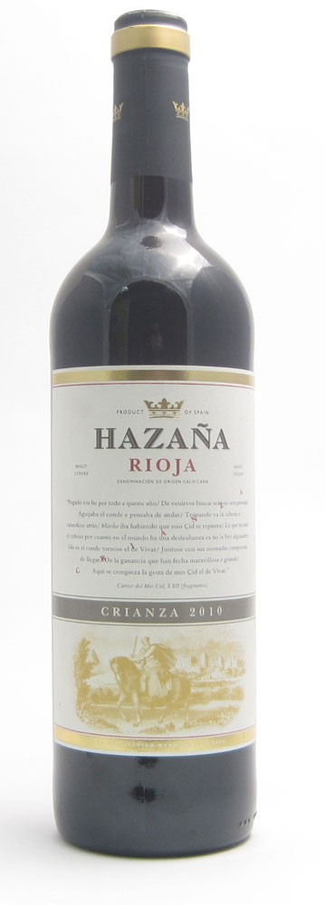Hazana Crianza Spanish red wine