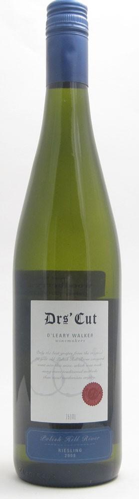 OLeary Walker Drs Cut Riesling Australian white wine