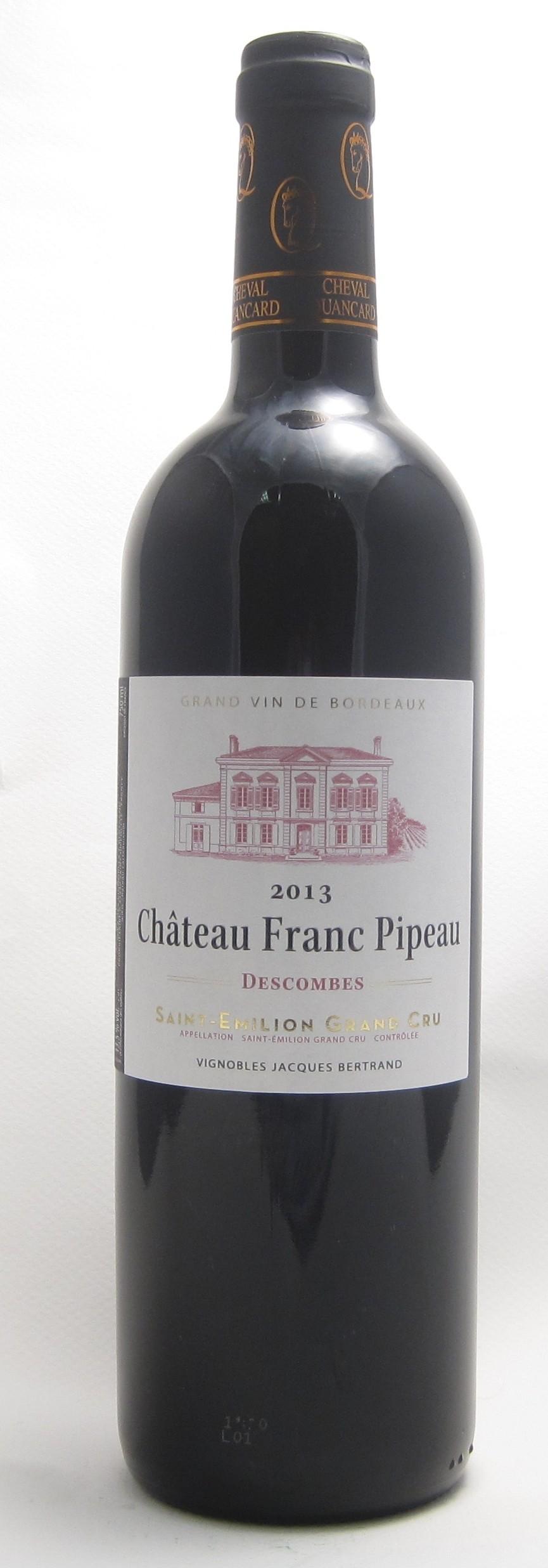 Château Franc Pipeau Saint-Emilion Grand Cru
