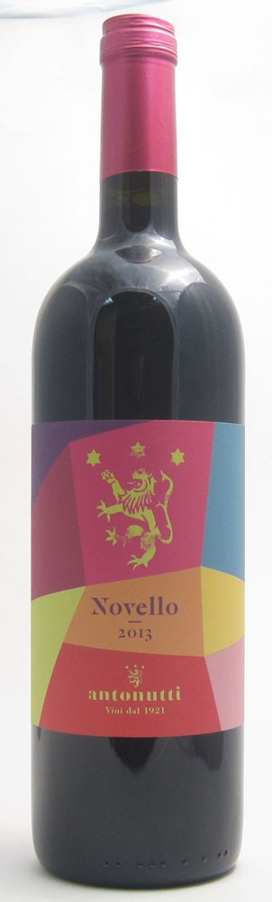 Antonutti Novello  Italian red wine