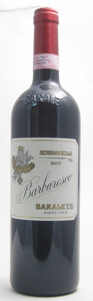 Barale Barbaresco Italian red wine