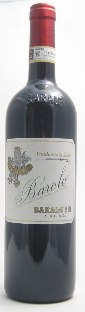 Barale Barolo Docg Italian red wine