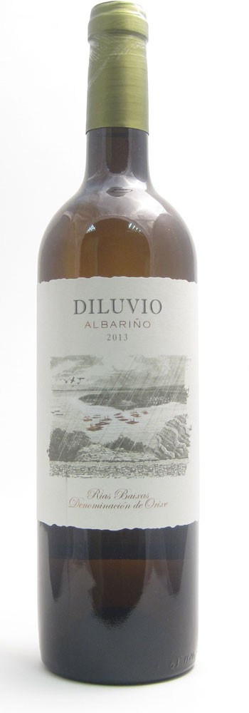Diluvio Albarino Spanish white wine