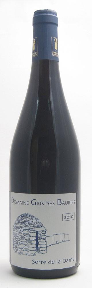Domaine Gris Des Bauries Serre La Dame Cotes Du Rhone French red wine
