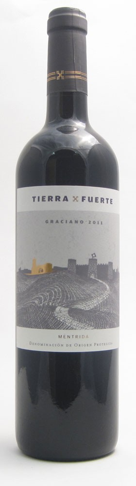 Tierra Fuerte Graciano Spanish red wine