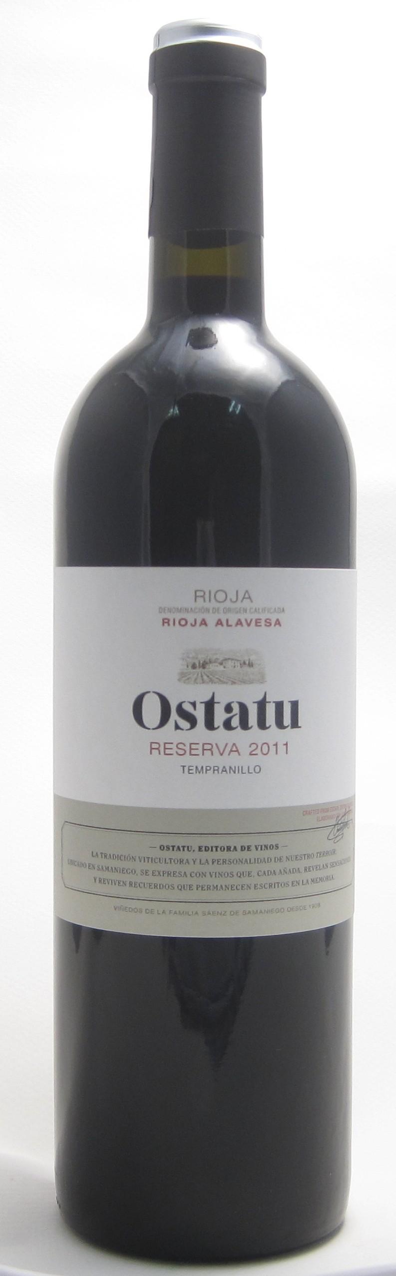 Bodegas Ostatu Rioja Reserva