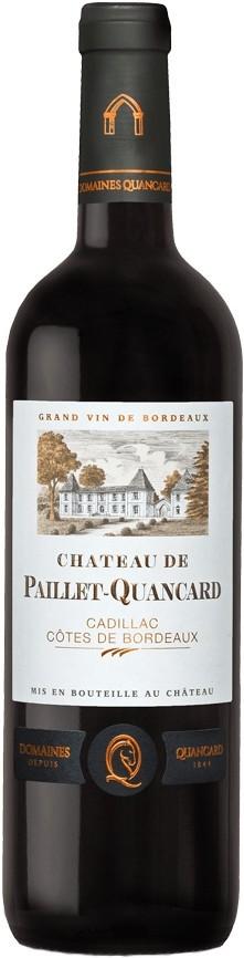 Chateau Paillet Quancard Cadillac Cotes de Bordeaux