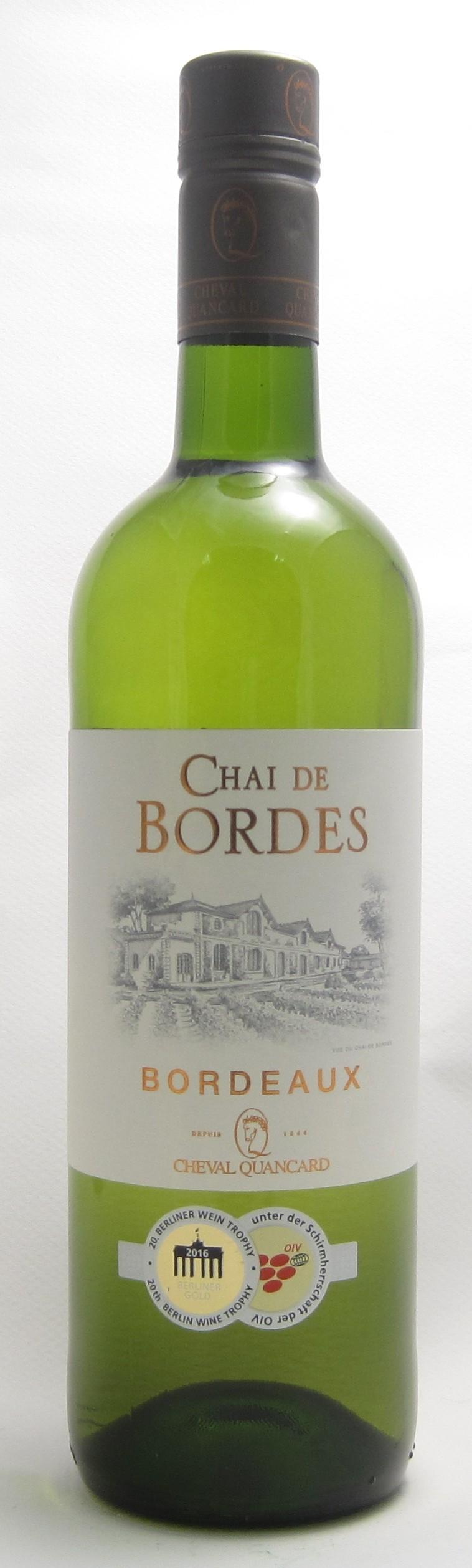 Chai de Bordes Bordeaux Blanc
